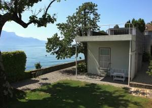 La Villa Le Lac, à Corseaux, en Suisse