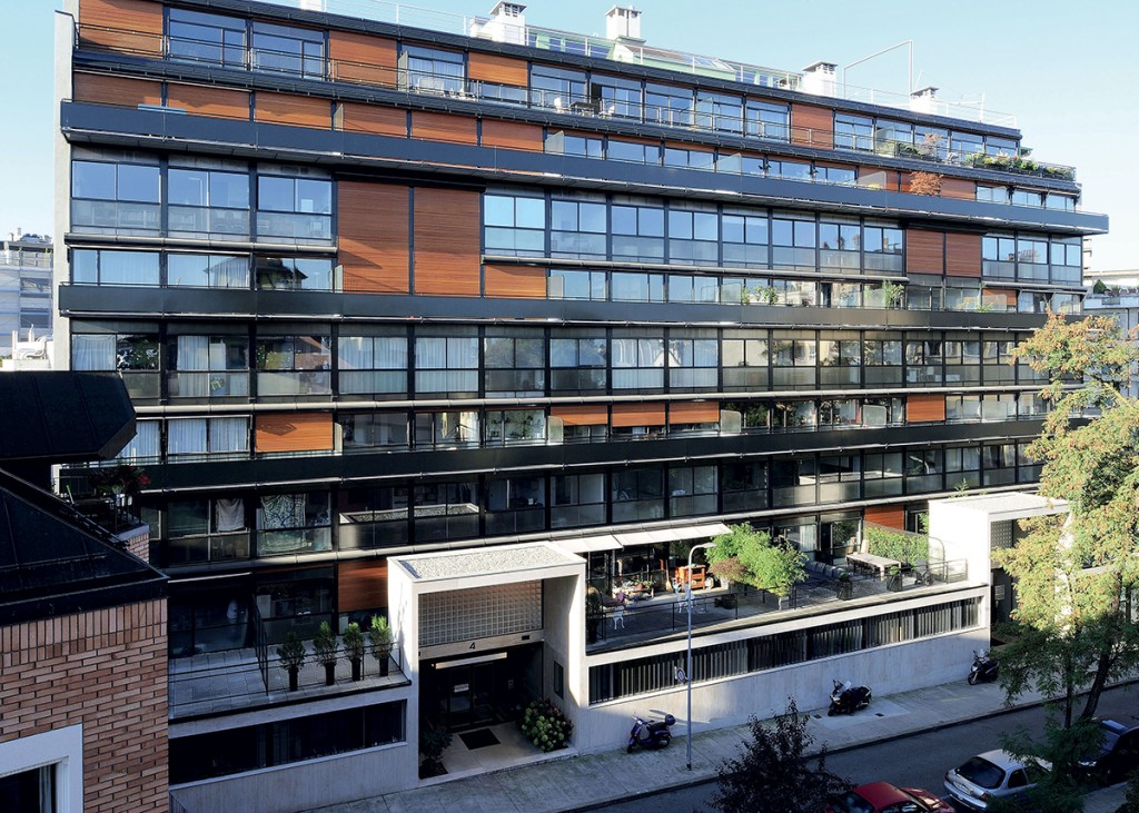 L'immeuble Clarté, à Genève, en Suisse