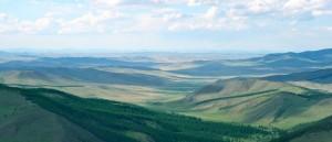 La splendide vue du monastère de Tuvkhun, en Mongolie - © François Philipp