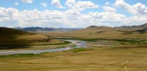 La vallée de l'Orkhon, en Mongolie - © François Philipp