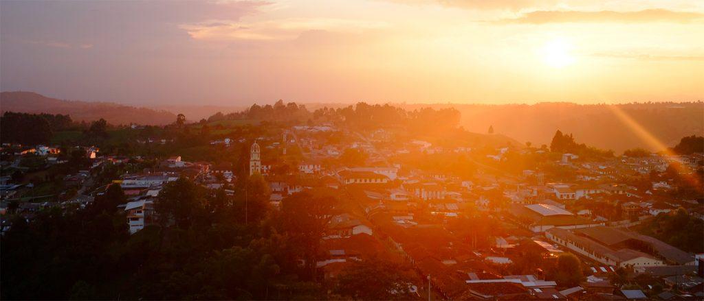 Vue sur Salento, en Colombie - © Arden